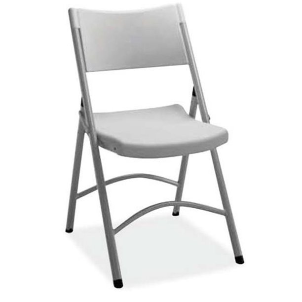 Office Source Fbm03 Light Gray Plastic Folding Chair Walmart Com Walmart Com