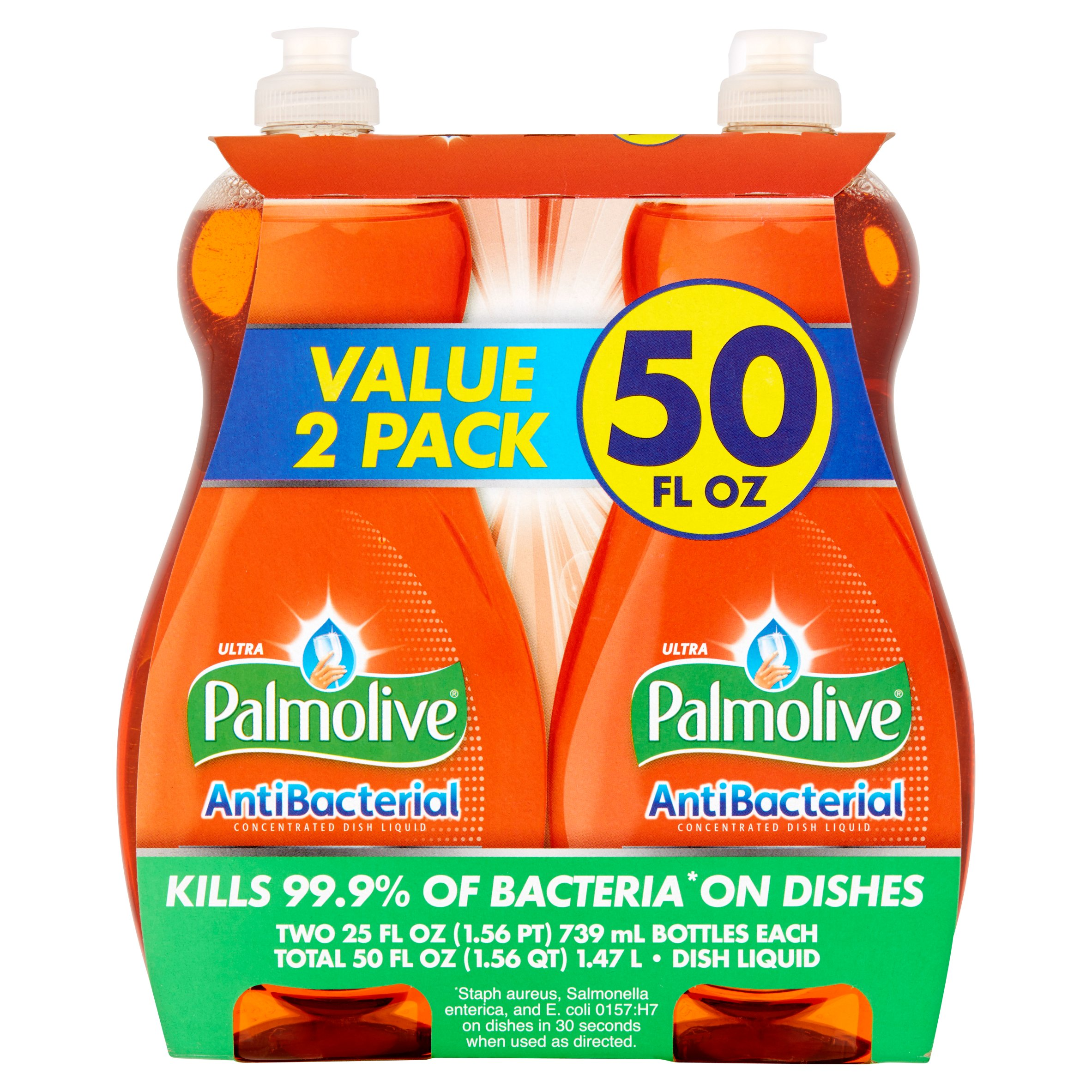 Palmolive Ultra Dish Liquid, Antibacterial, 25 fl oz Twin Pack