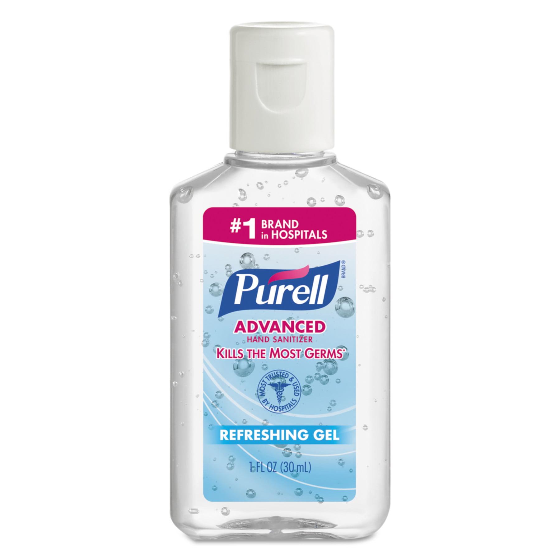 Purell Advanced Instant Hand Sanitizer Gel 1 Oz Bottle Lemon Scent 36 Bowl 1 Bowl Ct Walmart Com Walmart Com