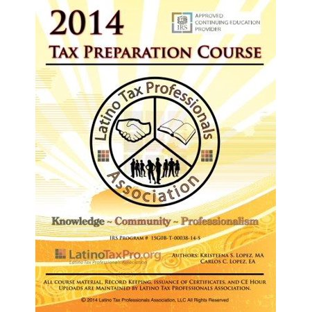 2014 Tax Preparation Course  Ltpa Fed English