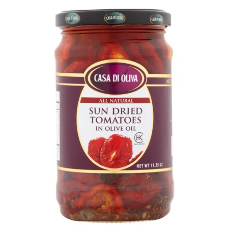 Oliva Series - (6 Pack) Casa Di Oliva Sun Dried Tomatoes in Olive Oil, 11.25 oz