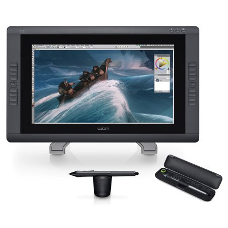 Wacom CINTIQ 22HD Creative Pen Display (DTK2200HD) + Bonus Pro Pen (KP503E)