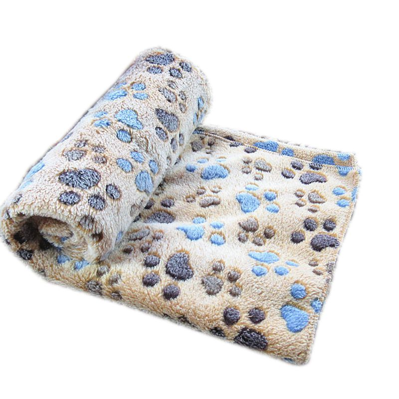Soft Warm Pet Fleece Blanket for Dog Cat Puppy Bed Mat Pad Cover Cushion