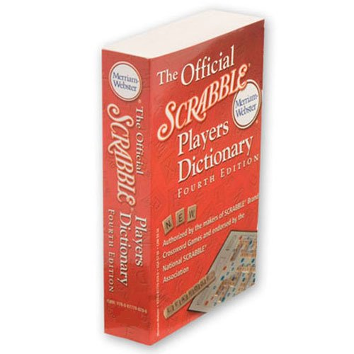 Scrabble Dictionary, A must for serious Scrabble players. By Milton Bradley from USA by