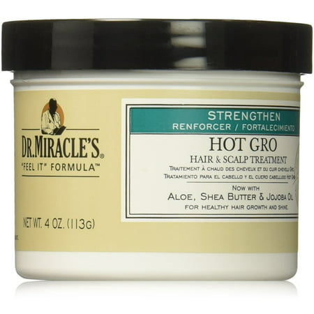Dr. Miracle's Strengthen Hot Hair & Scalp Treatment, 4