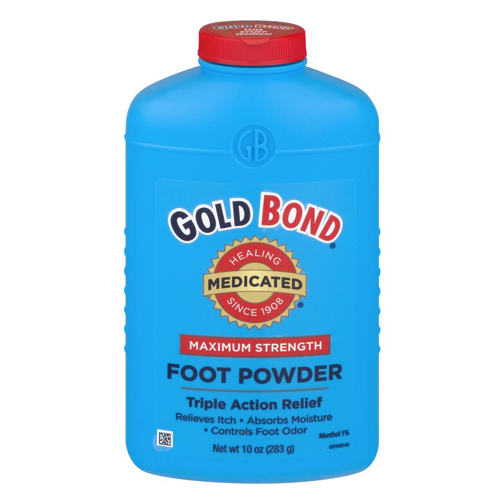 Gold Bond Maximum Strength Medicated Foot Powder , 10 oz