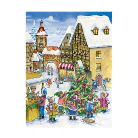 Sell Adv795 Sellmer Advent   Village Holiday Scene