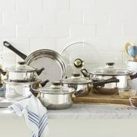 Gourmet Chef Gourmet Chef 12 Stainless Steel Piece Cookware Set