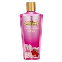 Victoria's Secret Fantasies Strawberries & Champagne Daily Body Wash 8.4 Oz (New Look