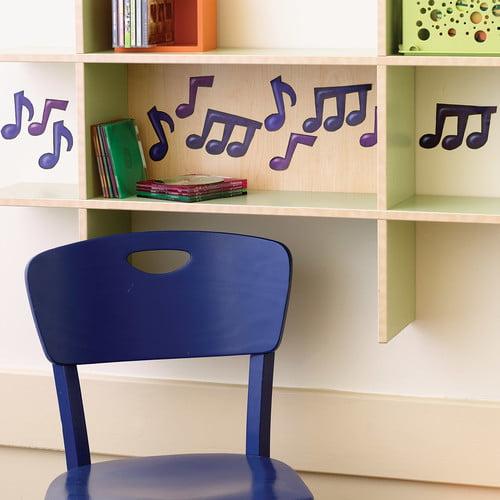 Wallies Musical Notes Wall Decal