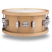 PDP by DW 20-Ply Maple Snare with Wood Hoops and Chrome Hardware 14 x 5.5 in.
