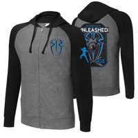 "Official WWE Authentic Roman Reigns ""Big Dog Unleashed"" Lightweight Hoodie Sweatshirt Multi Small"