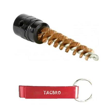 TACBRO .30-06 CHAMBER BRUSH with One Free TACBRO Aluminum Opener(Randomly Selected - 308 Chamber Brush