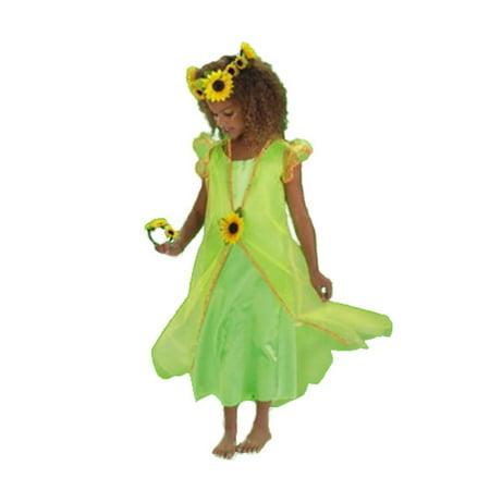 Disguise Girls 'Sunflower Fairy' Halloween Costume
