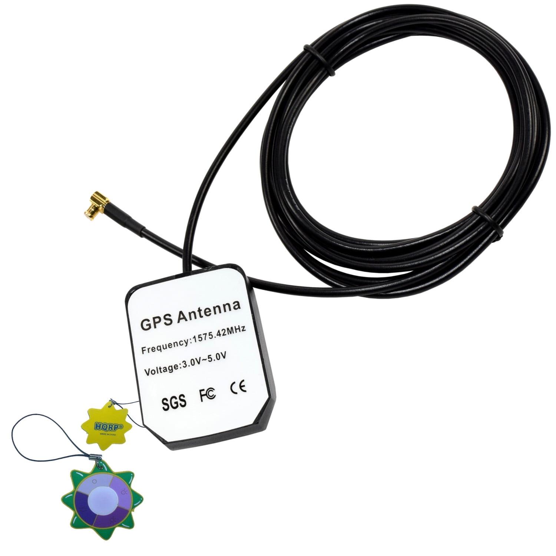 HQRP Amplified External GPS Antenna for GPSMAP 96C (010-00384-00) / GPSMap 60CSx Handheld GPS Navigator (010-00422-00) / GPSMap 60Cx Handheld GPS Navigator (010-00421-00) + HQRP UV Meter
