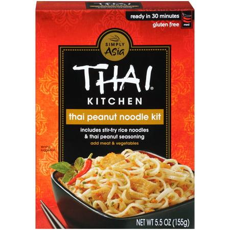 Thai Kitchen Gluten Free Thai Peanut Stir Fry Noodle Kit, 5.5 oz
