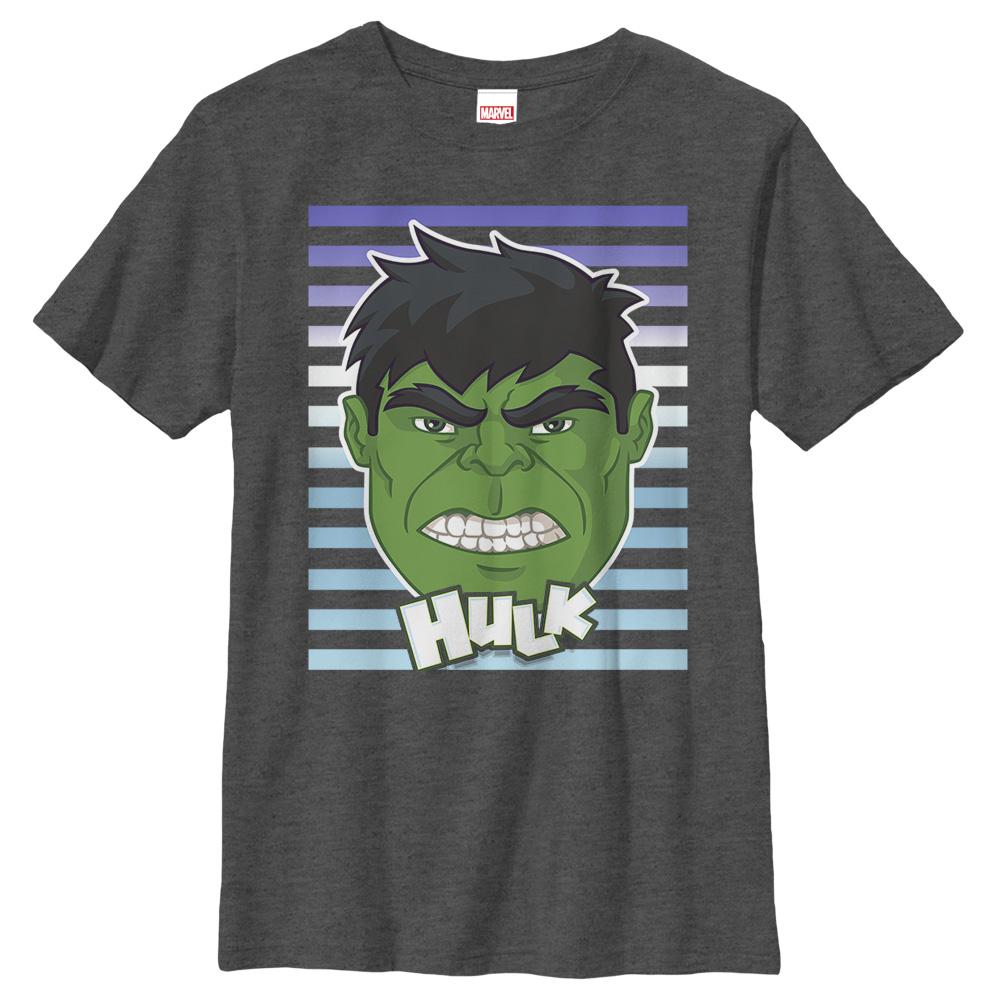 Marvel Boys' Hulk Smile T-Shirt