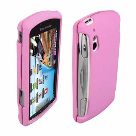 OEM Verizon Snap-On Gel Case for Sony Ericsson Xperia PLAY R800 (Pink) (Bulk Packaging) ()