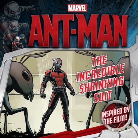 Marvel's Ant-Man: The Incredible Shrinking Suit - eBook
