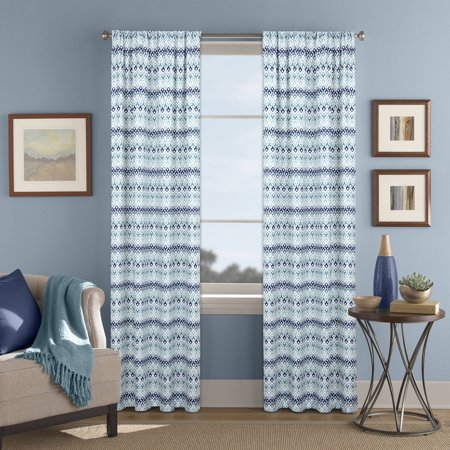 Better homes and gardens morocco printed window curtain - Better homes and gardens curtain rods ...