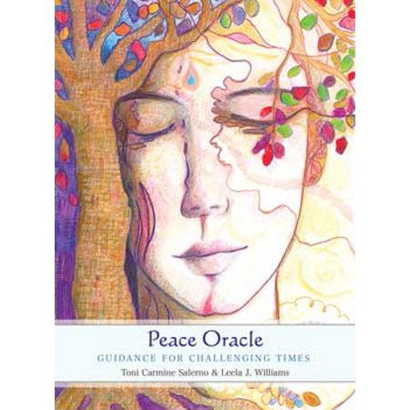 Tarot Cards Peace Oracle Deck Regain Your Harmony and Contentment With Life Includes Insightful Messages Offering Practical Advice 45-Cards and 72 Page Illustrated Guidebook Fortune Telling (Peace Square Card)