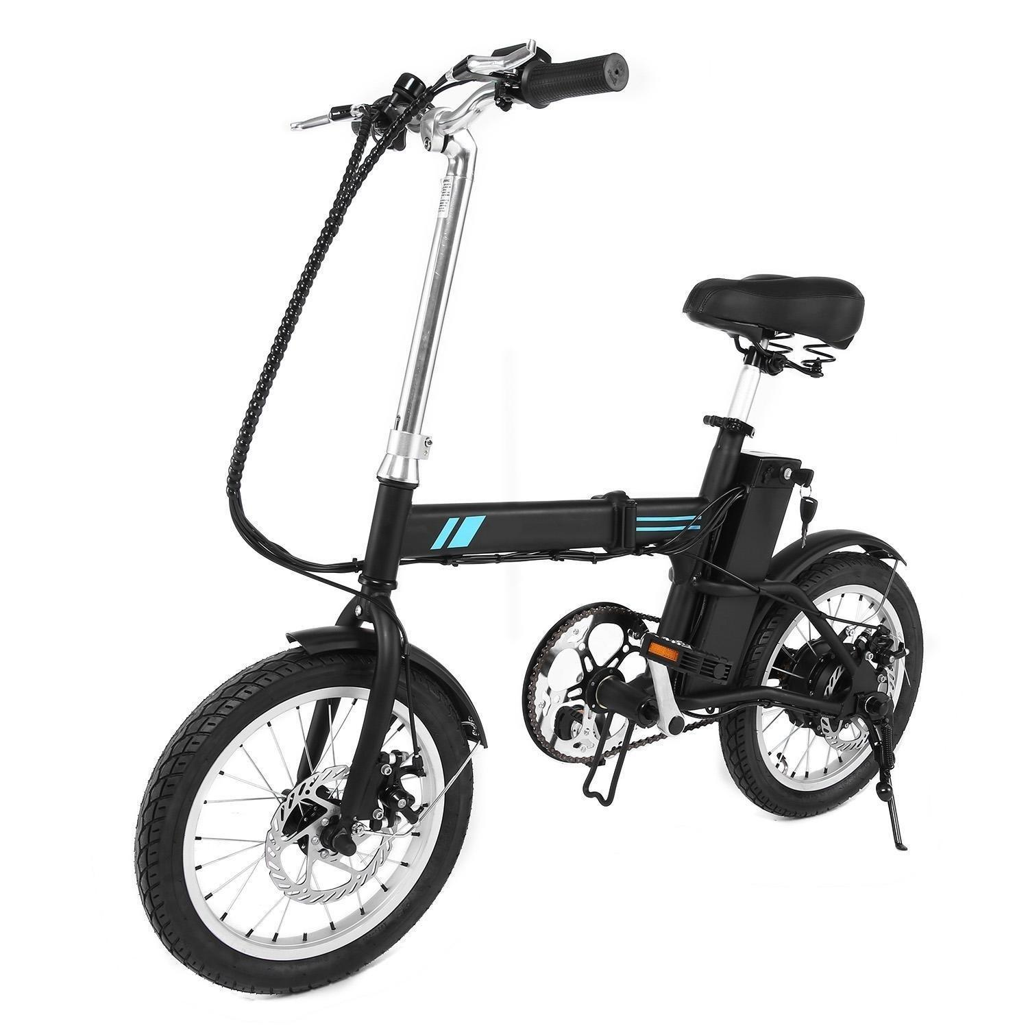Electric Bike Mountain Bicycle Aluminum Alloy Lithium Battery 36V Ebike  SPPYY