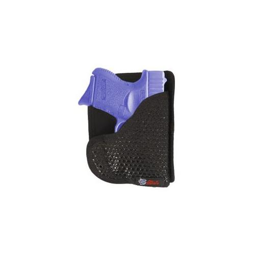 Desantis Super Fly Pocket Holster fits Glock 26, Ruger LC9 with Crimson Trace, Ambidextrous, Black by Generic