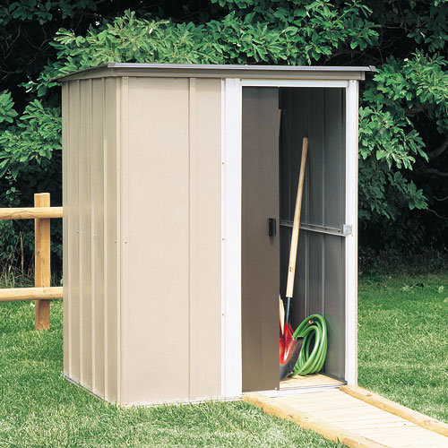 Arrow Brentwood Steel Arrow Shed, 5x4