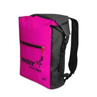 25L Outdoor Waterproof Dry Bag Roll Top Floating Backpack for Kayaking Rafting Boating River Trekking