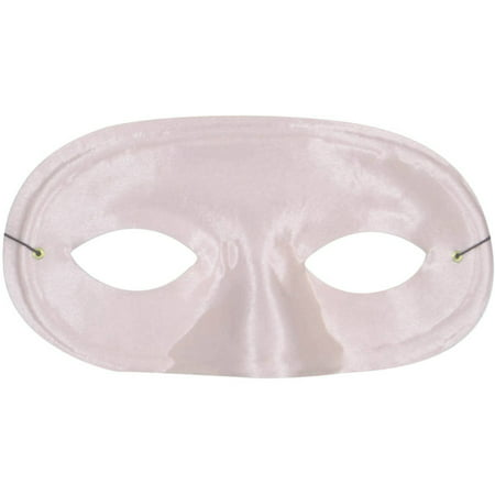 Pink Half Domino Mask Adult Halloween Accessory](Domino Group Halloween)