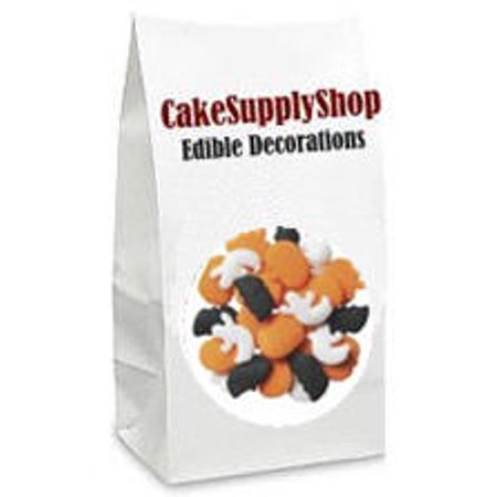 Cupcake For Halloween (Spooky Halloween Cake & Cupcake Decoration Confetti Quins)