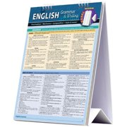 BarCharts 9781423225775 English Quickstudy Easel