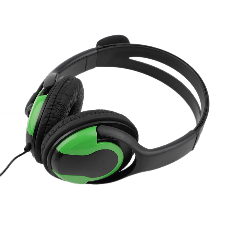 Wired Headset Headphone Earphone Steoro Microphone for PS4 Gaming PC Chat