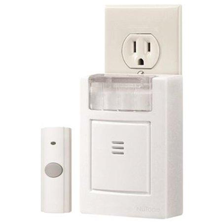 Strobe Chime (LA224WH Plug-In Door Chime Kit With Strobe Light, White)