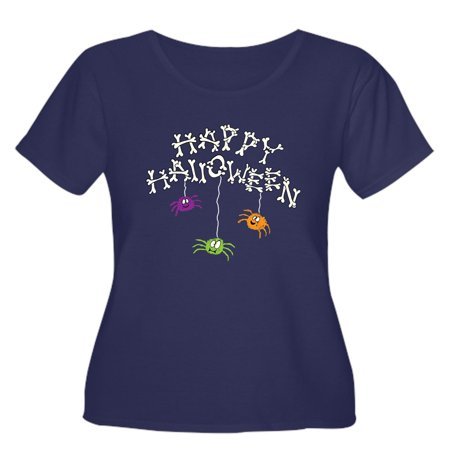 Ut Halloween Jersey (Women's Plus-Size Happy Halloween Bones)