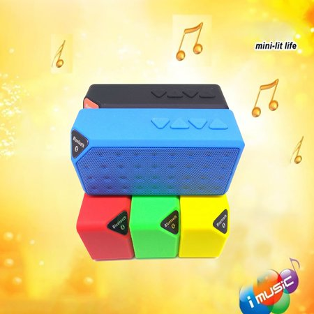 Water Cube X3 Wireless Speaker Outdoor Small Mini Portable Subwoofer - image 6 of 7