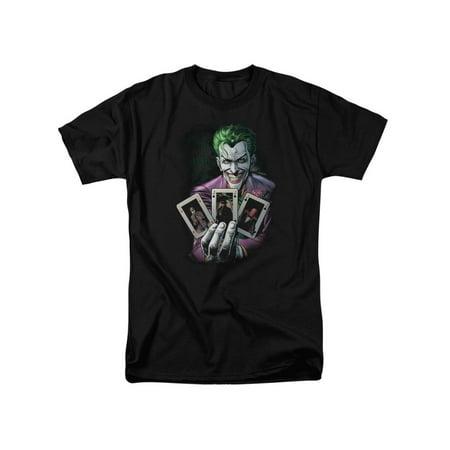Batman DC Comics The Origin Of The Joker Cover Adult T-Shirt - Origin Halloween