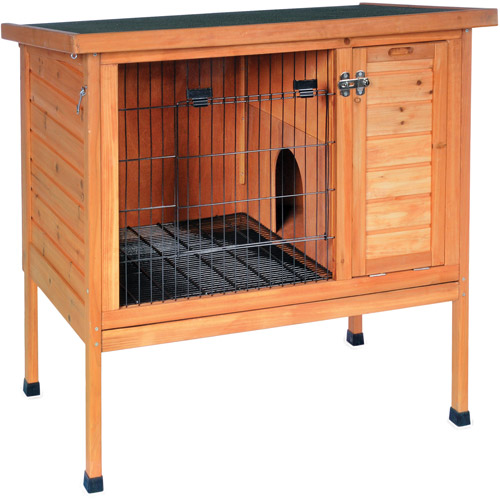 Prevue Pet Products Rabbit Hutch, Natural
