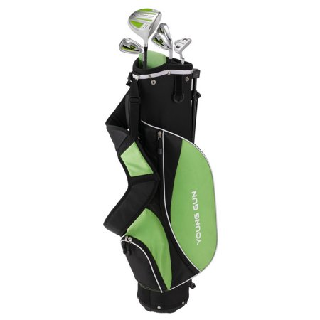 Young Gun ZAAP ACE GREEN Junior golf club Youth Right Hand Set & bag for kids Ages 12-14