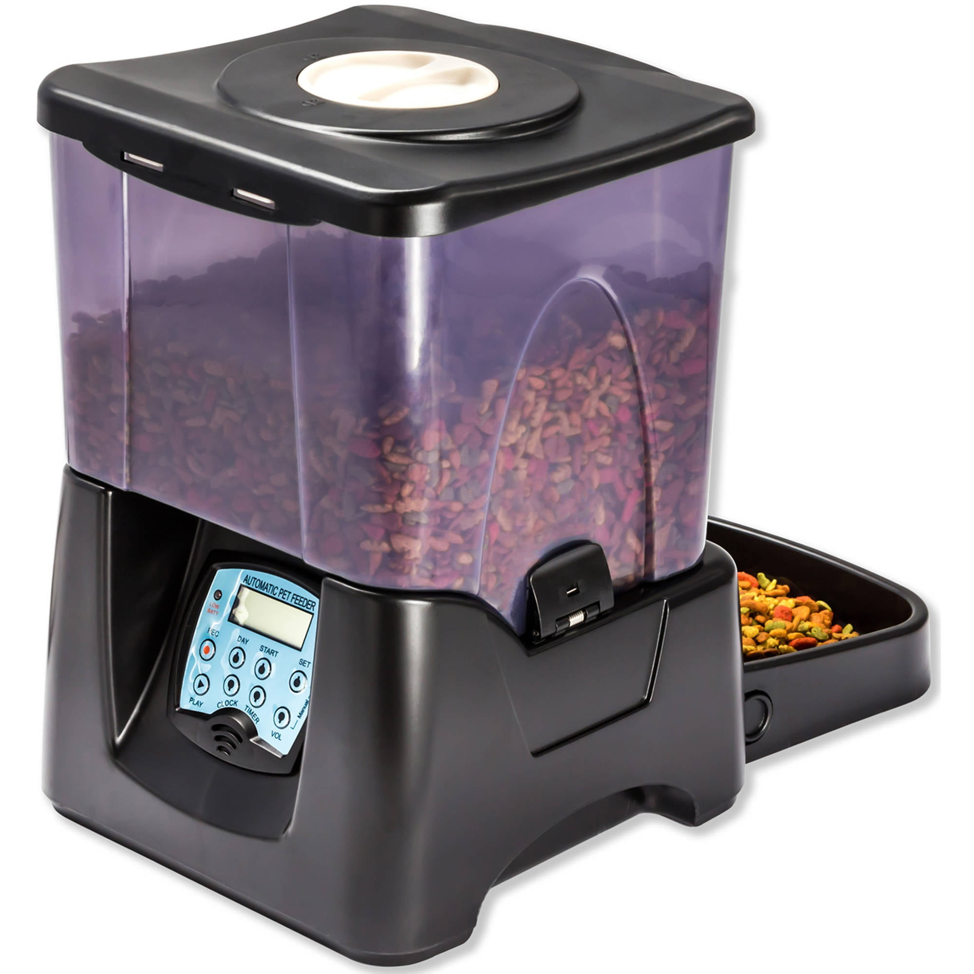 for smartfeeder strong blck deals pets pet friday lovers people animal petnet feeder com black automatic