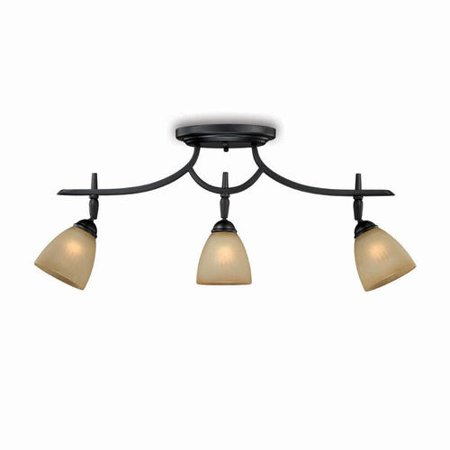Patriot Lighting Somerville 3 Light Bronze Track Set