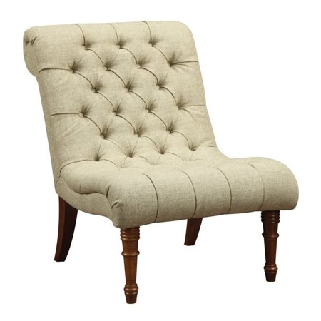 Coaster Tufted Accent Chair in Mossy Green - image 1 of 2