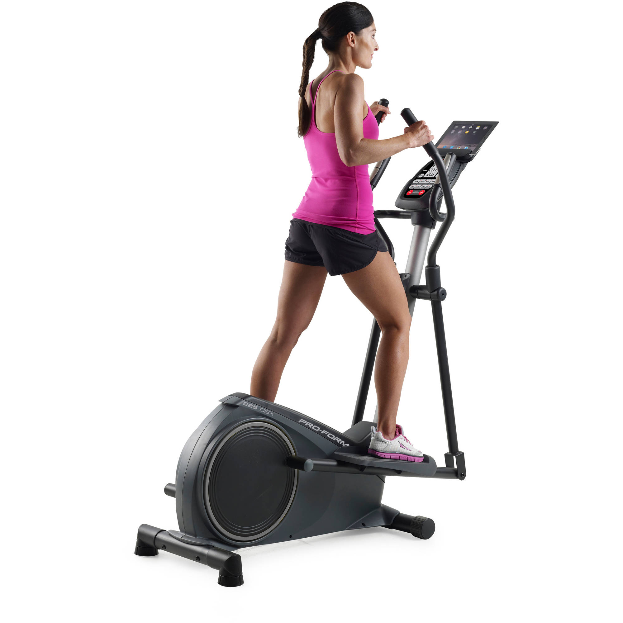 ProForm 225 CSE Compact Portable Elliptical with Tablet Holder