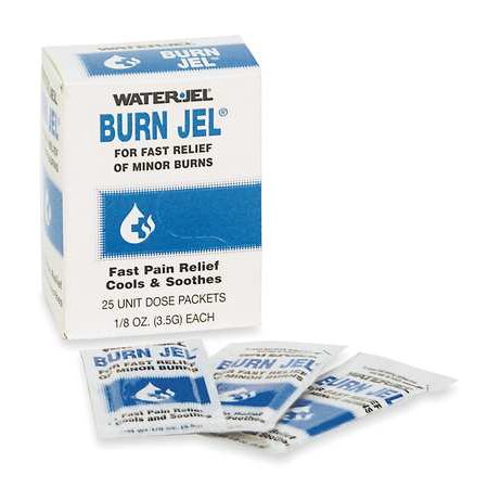 WATERJEL Burn Gel,PK25 49050