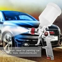 FAGINEY Professional 1.4mm Nozzle 600ml Gravity Type Pneumatic Spray Gun For Car Painting , Air Spray Gun, Gravity Type Spray Gun