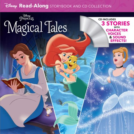 Disney Princess Magical Tales Read-Along Storybook and CD Collection (Disney Penny Collection Book)
