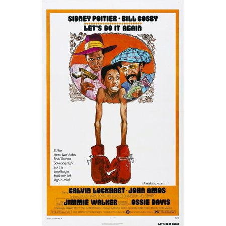LetS Do It Again Us Poster From Left John Amos Jimmie Walker Bill Cosby 1975 Movie Poster (Alvin Poster)