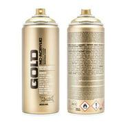 Montana GOLD 400 ml Spray Color, Goldchrome