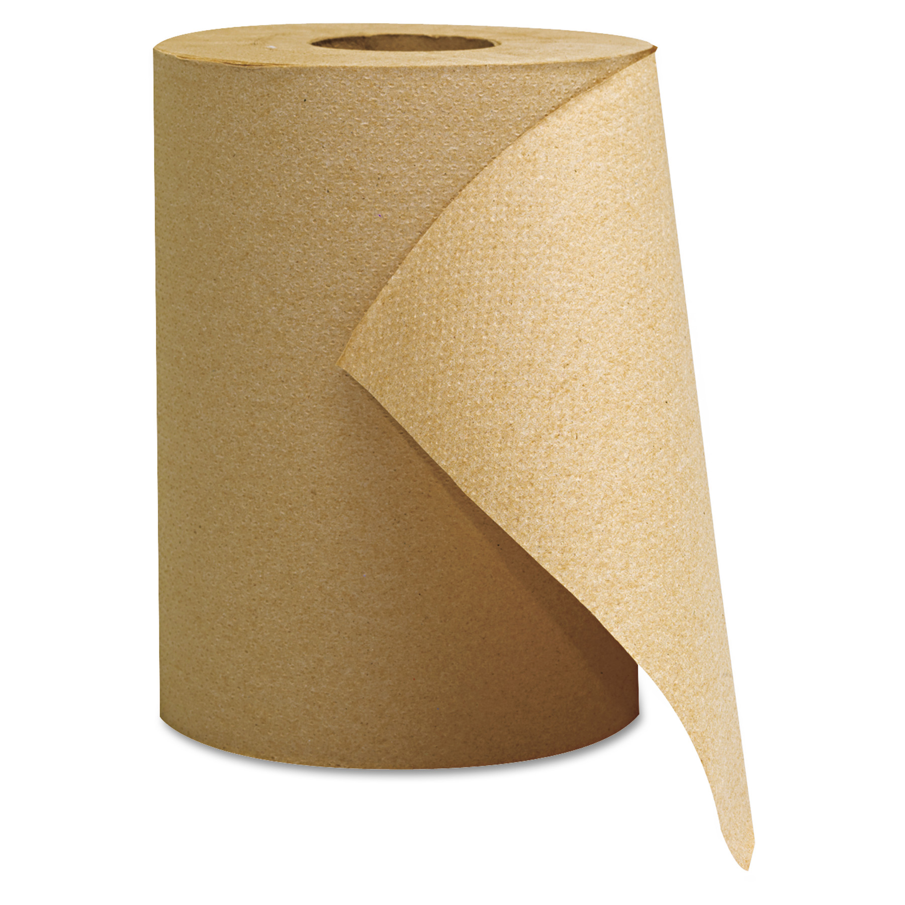 GEN Hardwound Roll Towels, Kraft, 8 x 350'