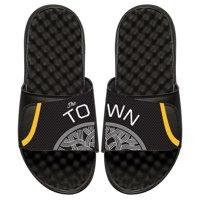 Golden State Warriors ISlide Youth Statement Jersey Split Slide Sandals - Black